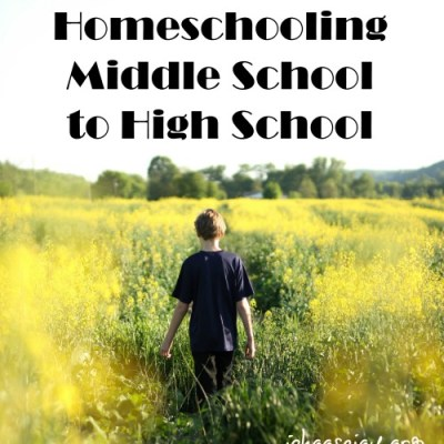 Transitioning from Homeschooling Middle School to High School