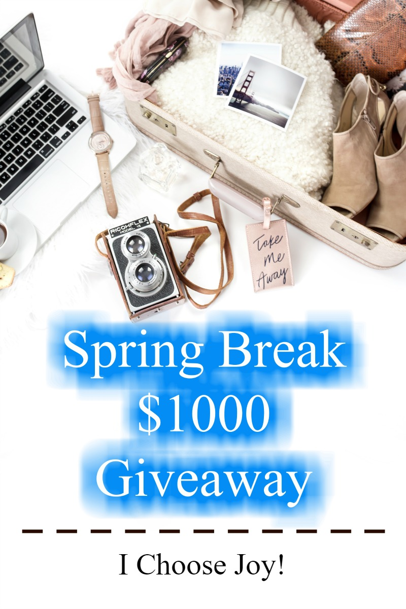 Wonderful Reasons Why Vacations Make Families Closer plus Spring Break $1000 Giveaway!