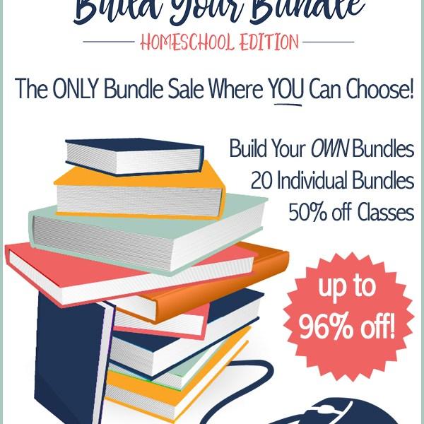 Build Your Bundle Homeschool Curriculum Sale