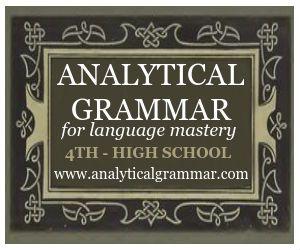 Analytical Grammar for 4th grade - high school