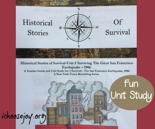 Having Fun and Learning with Historical Stories of Survival- The Great San Francisco Earthquake of 1906