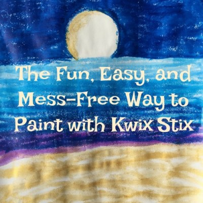 The Fun, Easy, and Mess-Free Way to Paint with Kwix Stix