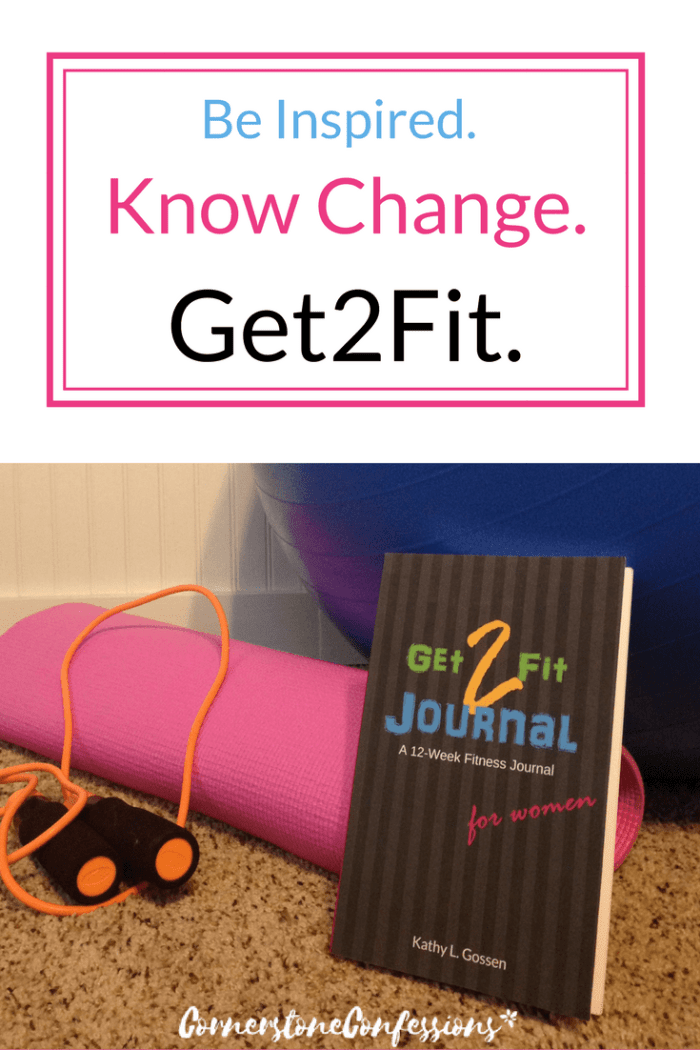 Get2Fit Fitness Journal for Women