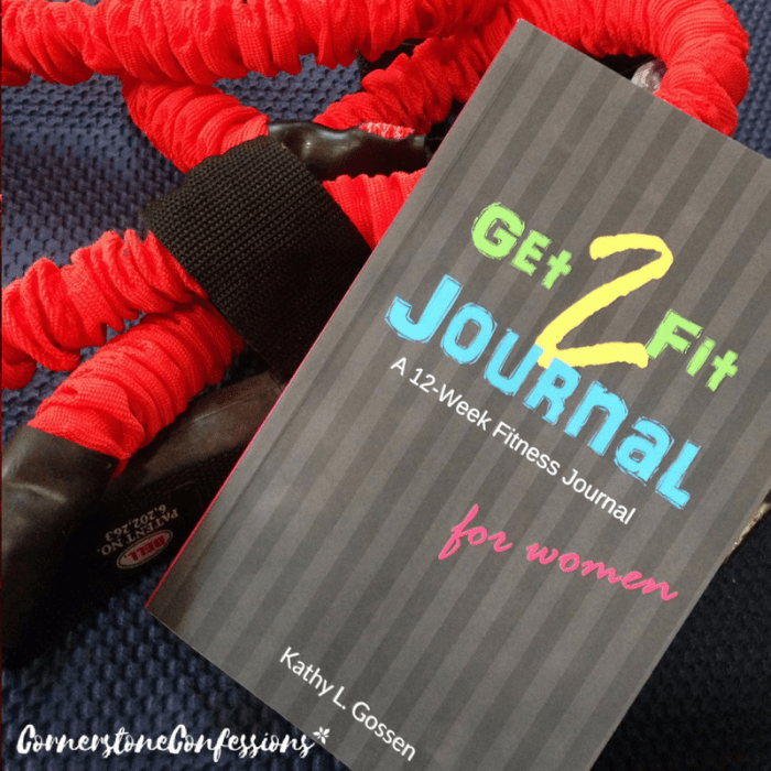 Get2Fit Fitness Journal for Women.