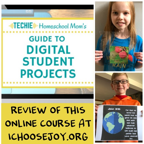 Review of Guide to Digital Student Projects online course. See why my kids are loving this course.