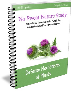 No Sweat Nature Studies are the perfect thing for a lazy homeschool nature study mom