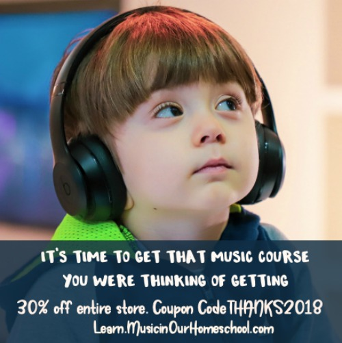 Black Friday Learn.MusicinOurHomeschool.com #musiccurriculum #ichoosejoyblog #homeschoolcurriculum