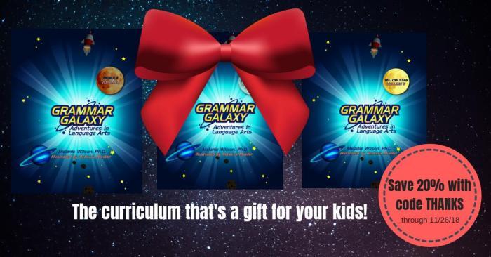 Grammar Galaxy is my kids' favorite grammar curriculum #ichoosejoyblog #grammar #grammarcurriculum #homeschoolcurriculum