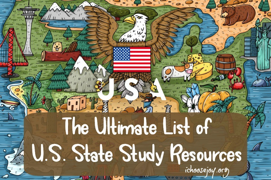 State Songs of the 50 U.S. States online course is the easiest way to include learning about the official state song of each state as you do your U.S. State Study! Included in this Ultimate Guide to U.S. State Study Resources post. #homeschool #homeschoolmusic #usstatestudy #usgeography #geography