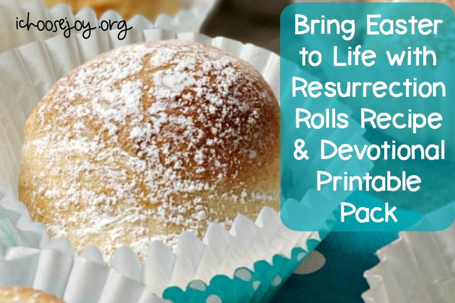 Bring Easter to Life with Resurrection Rolls Recipe & Devotional Printable Pack. The 24-page printable pack is free for a limited time. #ichoosejoyblog #Easter #resurrectionrolls #easterrecipe