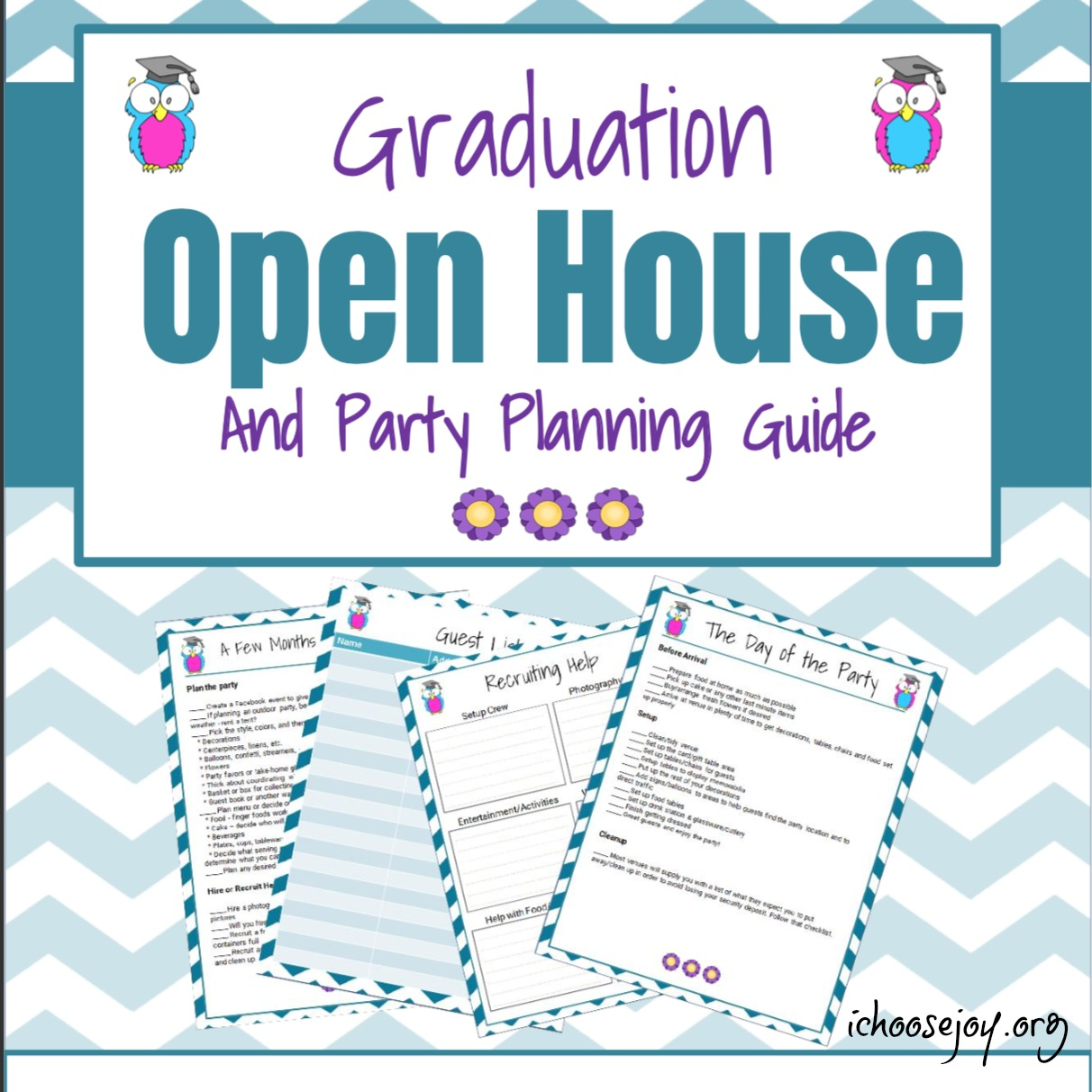 Graduation Open House Planning Checklist