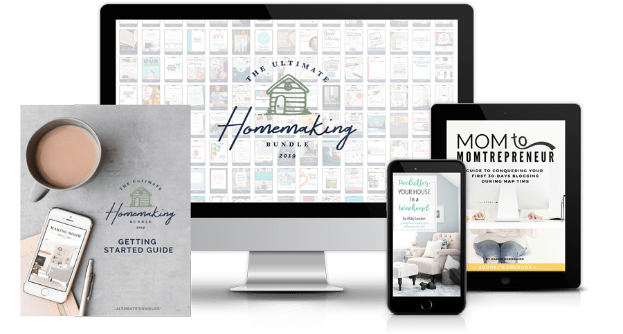 Everything you need to know about the Ultimate Homemaking Bundle!