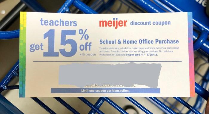 Meier for Your Back-to-School Shopping