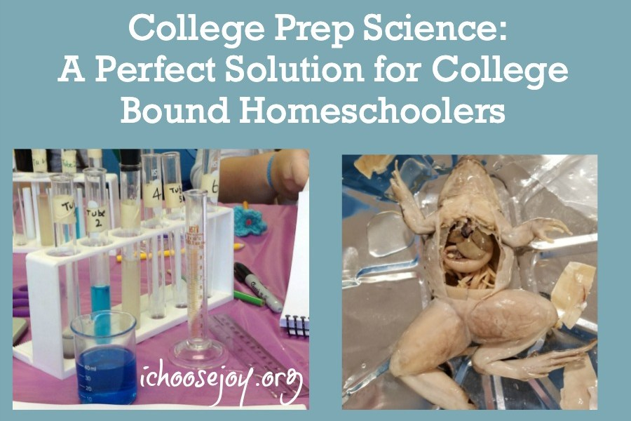College Prep Science Classes and Lab Intensives A Perfect Solution for College-Bound Homeschoolers