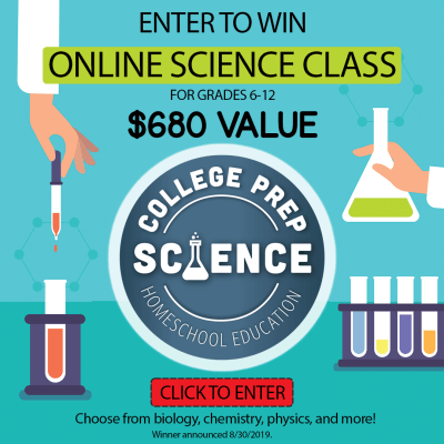 College Prep Science Lab online class giveaway