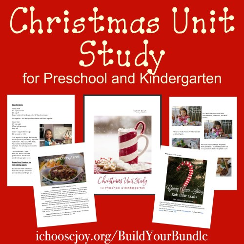 Christmas Unit Study for Preschool and Kindergarten