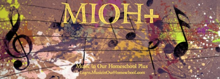 MIOH+ Music in Our Homeschool Plus is the perfect elementary music membership for homeschoolers!