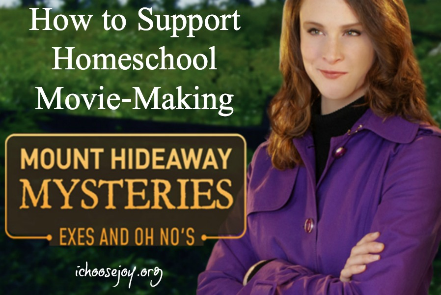 How to Support Homeschool Movie-Making and review of Mount Hideaway Mysteries