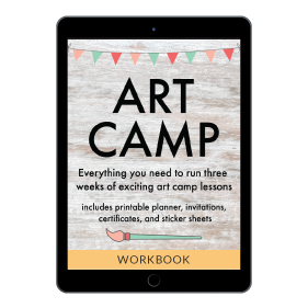Art Camp from Ultimate Homemaking Bundle 2020