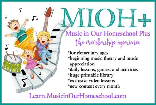 Music in Our Homeschool Plus