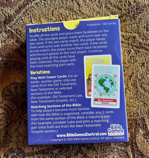 Use the games from Bible Games Central to help your kids learn more about the Bible and to have fun! Great for home, church, Christian school, or homeschool co-op!