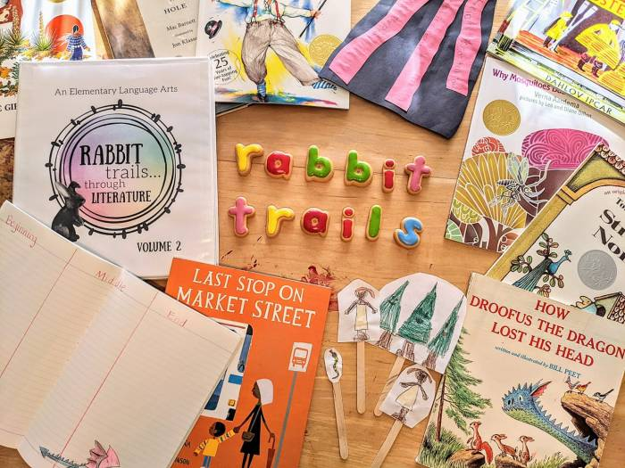 Rabbit Trails Through Literature is perfect for early elementary language arts, either as a full curriculum or as a supplement!