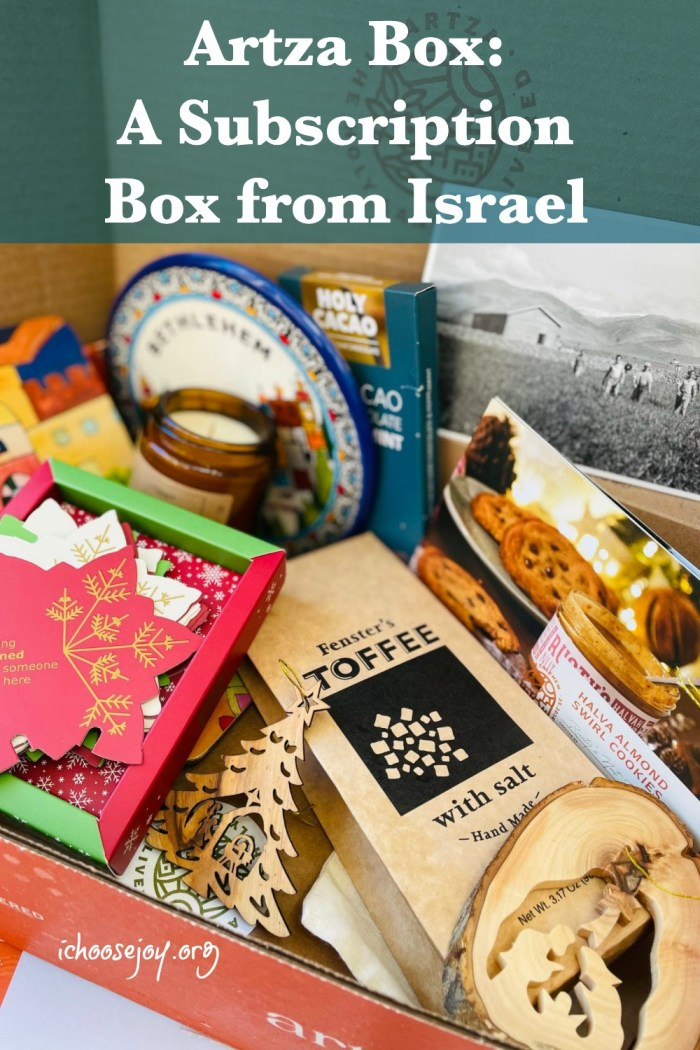 Artza Box a subscription box from Israel