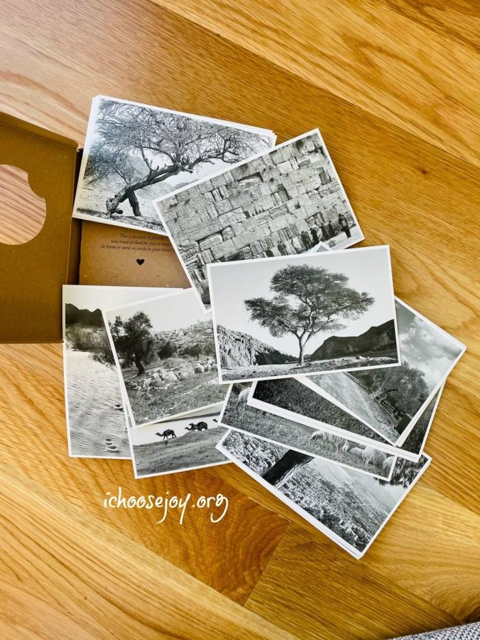 Artza Box - the postcards