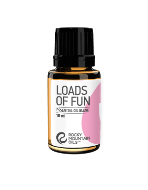 Loads of Fun essential oil blend from Rocky Mountain Oils