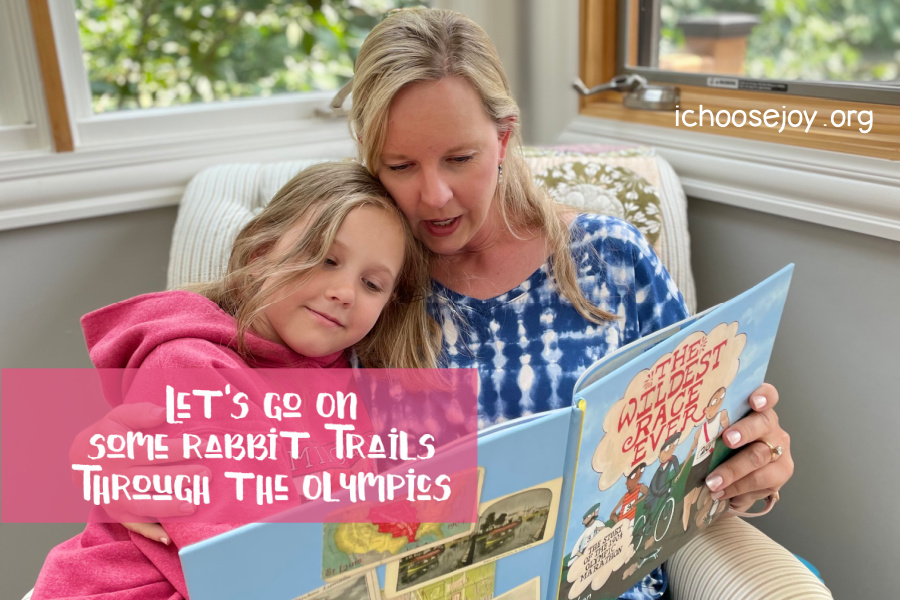 Let's Go on Some Rabbit Trails Through the Olympics