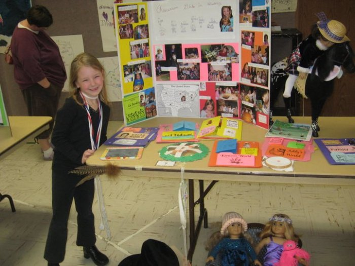 American Girl Lapbook project