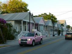 Key West Häuschen in pastell