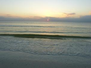Abenddämmerung an der Golfküste