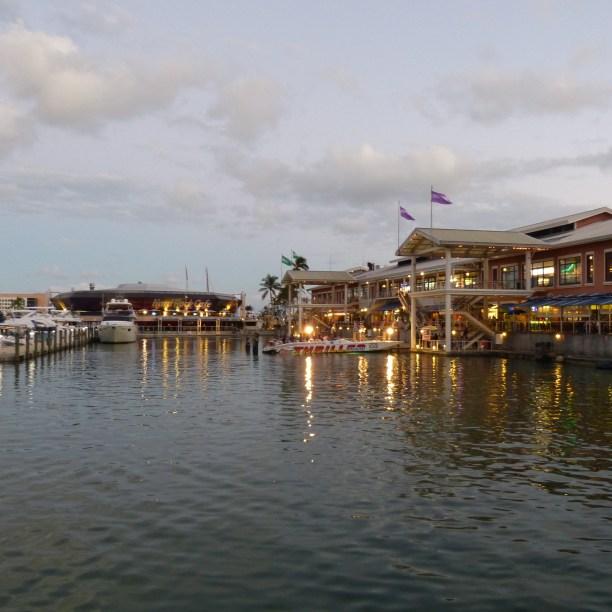 Hafen an der Bayside