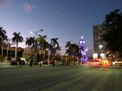 Miami Downtown by night