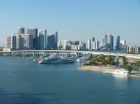 USA Florida Miami Port Hafen Skyline