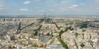 Frankreich Paris Lieblingsstadt Eiffelturm Blick vom Tour Montparnasse