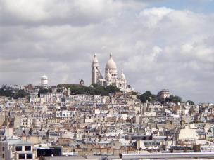 Blick auf Montmartre