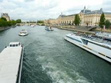 Boote auf der Seine