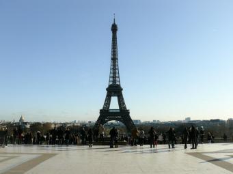 Bester Blick vom Palais Chaillot