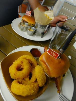 Hard Rock Café Hamburger