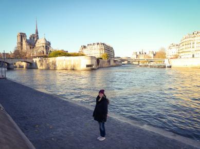 Île-de-la-Cité mitten in der Seine