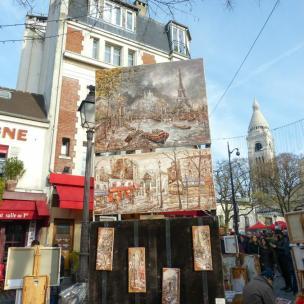 Kunst in Montmartre