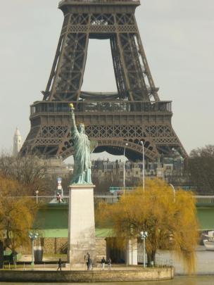 Pariser Freiheitsstatue