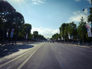 Prachtstraße Champs-Élysées