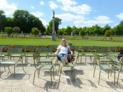 Sonnenzeit im Jardin du Luxembourg