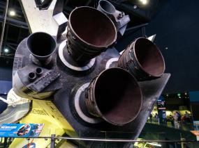 Space Shuttle Atlantis von hinten-1200x900