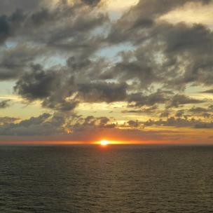 Sonnenuntergang überm Meer-1200x900
