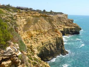 Algarve Carvoeiro Cliff Walk Klippen