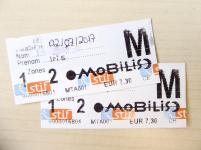 Paris Metro Ticket Tagesticket Mobilis